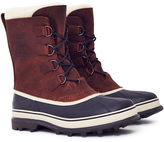 Sorel Caribou Waterproof Leather Boot Brown