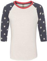 Alternative Men's Baseball T-Shirt - STARS - L