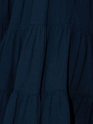 HONORINE Peri tiered minidress