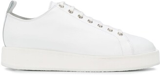 Jil Sander Chunky Sole Lace-Up Sneakers