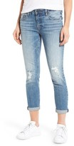 Vigoss Women's Tomboy Ripped Skinny Jeans