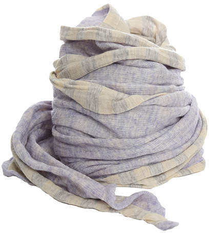 Yigal Azrouel Violet Jersey Scarf