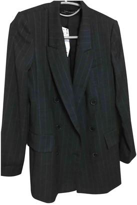Zara Grey Polyester Jackets