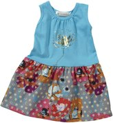 Lucky Jade English Garden Tank Dress (Baby) - Surf-3-6 Months