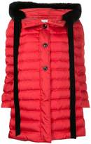 Miu Miu contrast trim padded jacket