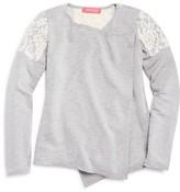 Menu Girls' Lace Patch Cardigan - Sizes XS-XL