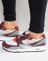Le Coq Sportif R800 90's Trainers In Red 1621189