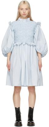 Cecilie Bahnsen SSENSE Exclusive Blue Cora Dress