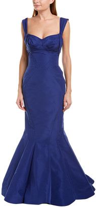 Zac Posen Silk Gown