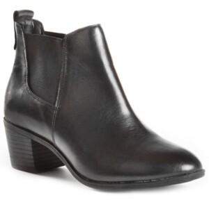 dav Sienna Women's Waterproof Leather Chelsea Bootie Women's Shoes