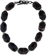 Oscar de la Renta Bead Strand Collar Necklace