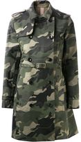 Valentino camouflage trench coat