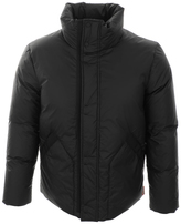 Hunter Rubber Touch Down Jacket Black