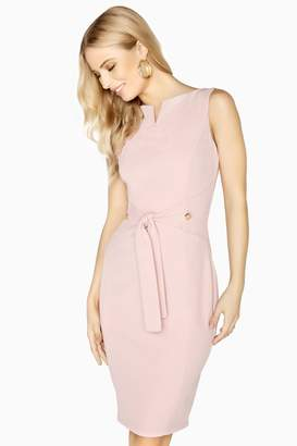 Paper Dolls Outlet Antibes Tie Waist Pencil Dress