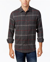Club Room Men's Long-Sleeve Plaid Shirt, Only at Macy's