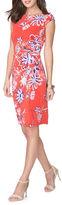 Chaps Kenna Floral Jersey Dress