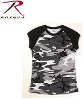 Rothco Short Sleeve Camo Raglan T-Shirt,