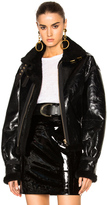 Alexandre Vauthier Shearling Jacket