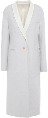 Joseph Two-tone Melange Wool-felt Coat
