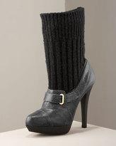 Stella Mccartney Sock Ankle Bootie