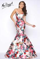 Mac Duggal Prom - 79095 Bustier Gown In Floral Romance