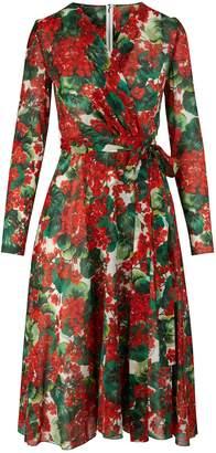 Dolce & Gabbana Silk midi-dress