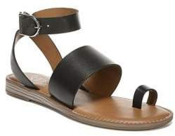 Franco Sarto Gracious Leather Toe-Ring Sandals
