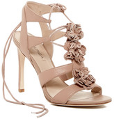 Via Spiga Deedee Rosette Lace-Up Sandal