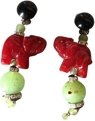 Angela Caputi Multicolour Plastic Earrings