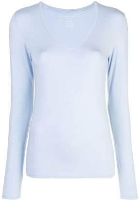 Majestic Filatures loose-fit knitted top