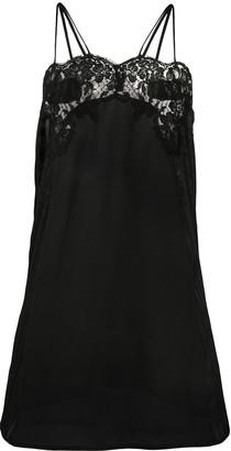 La Perla Lace-Trimmed Camisole Dress