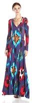 Rachel Pally Women's Long Wrap Maxi Dress