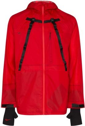 Nike x MMW hooded nylon jacket