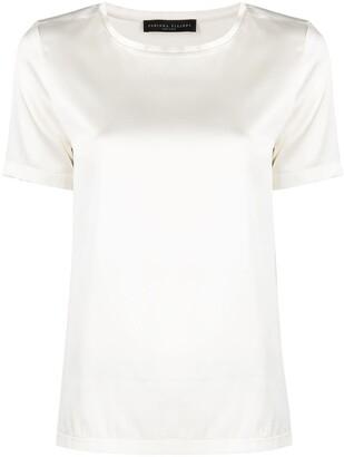 Fabiana Filippi stretch-silk T-shirt
