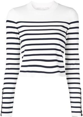 Veronica Beard striped pattern jumper