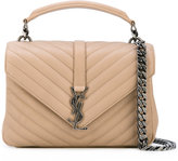 Saint Laurent medium Monogram Collège satchel bag - women - Calf Leather - One Size
