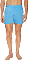 "Parke & Ronen 6"" Catalonia Solid Stretch Swim Trunks"