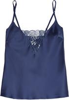 Cosabella Positano lace-trimmed satin camisole