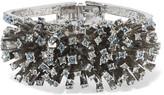 Oscar de la Renta Firework silver-tone crystal bracelet