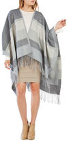 BCBGMAXAZRIA Color Block Ruana