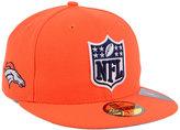 New Era Denver Broncos Team Shield 59FIFTY Cap