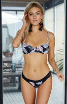 rhythm Kauai Tropical Print Underwire Bikini Top