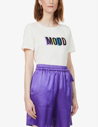 Chinti and Parker Slogan-print cotton T-shirt