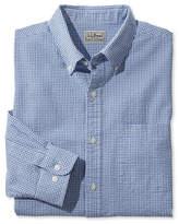 L.L. Bean Seersucker Shirt, Long-Sleeve Gingham