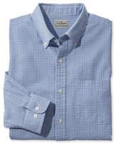 L.L. Bean Seersucker Shirt, Long-Sleeve Gingham