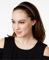 Josette Mixed Media Triple Headband