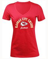 5th & Ocean Women's Kansas City Chiefs Checkdown LE T-Shirt