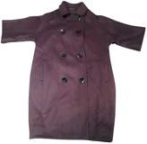 Giambattista Valli Purple Cashmere Coat for Women