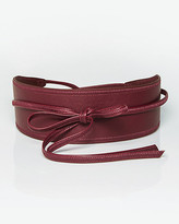 Le Château Leather-Like Obi Belt