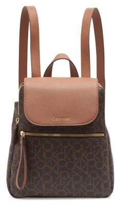 Calvin Klein Elaine Faux Leather Backpack